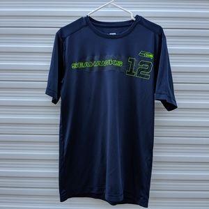 Seahawks Size Medium 12 Fan  Tshirt